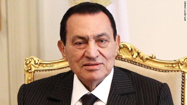 Former Egyptian President Mubarak hospitalized