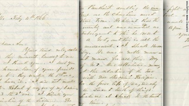 Letter from close friend offers rare glimpse into President Lincoln's 'theist' beliefs