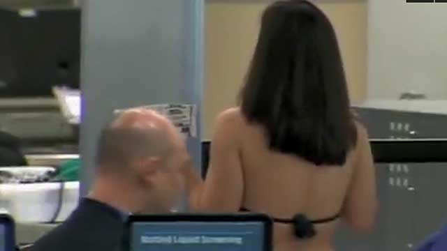 Gotta Watch: Awkward TSA pat-down moments