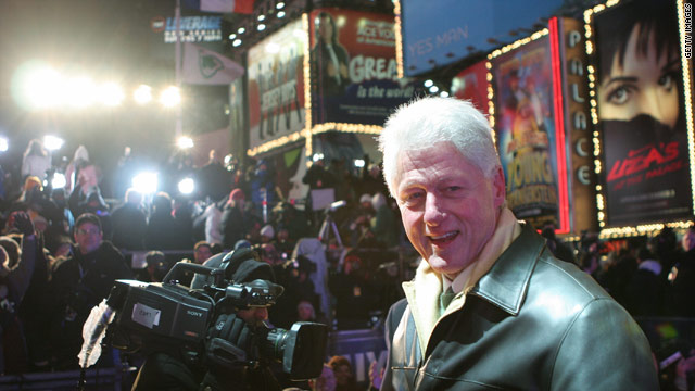 Clinton remembers old Times Square: crime, hookers