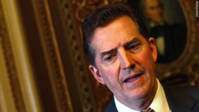 DeMint doesn't want to be vice president