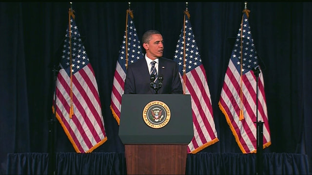 Live blog of the president's address