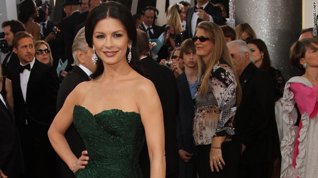 Catherine Zeta-Jones checks into a mental health facility