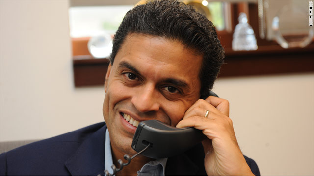 Fareed is taking your questions