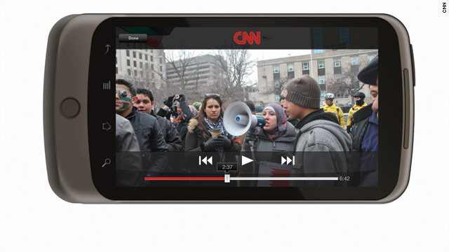 CNN App launches for Android phones