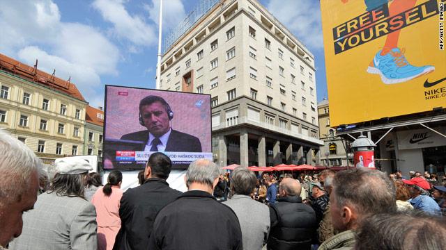 Croatian generals convicted of war crimes, crimes against humanity