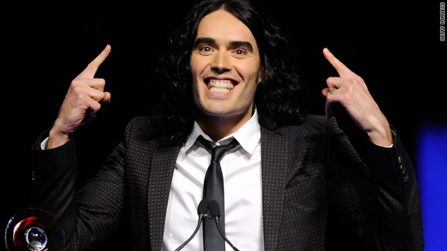 Russell Brand officially joins 'Rock of Ages'