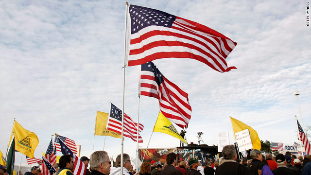 A golden opportunity for GOP 2012 hopefuls to court Tea Party?