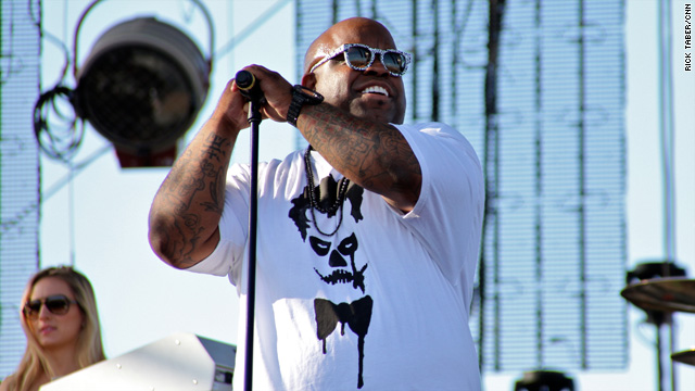 Coachella Day 1: Cee Lo gets unplugged – and not by choice