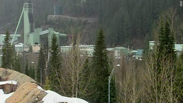 Official: Man trapped after roof of Idaho mine collapses 75 feet