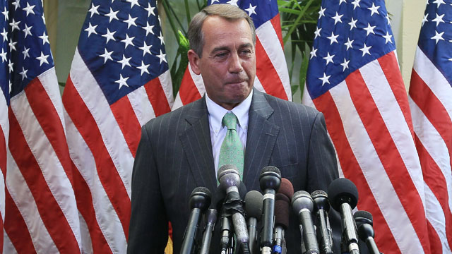 Boehner wraps up Congressional visit to Iraq to assess progress, next steps