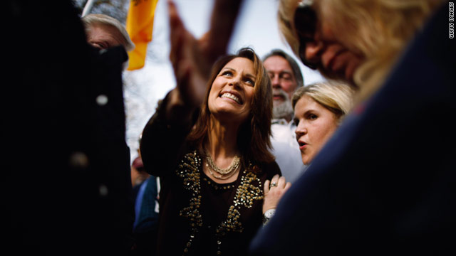Bachmann non-committal on first GOP debate