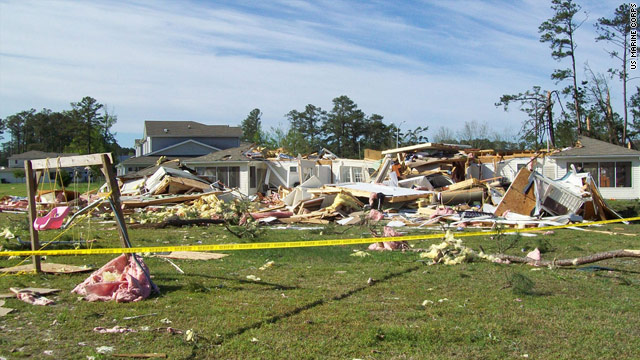 Life and death in path of tornadoes