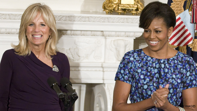 Michelle Obama, Jill Biden talk military families, other issues, on 'The View'