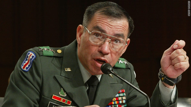 Retired general may run for Senate in Texas as Democrat