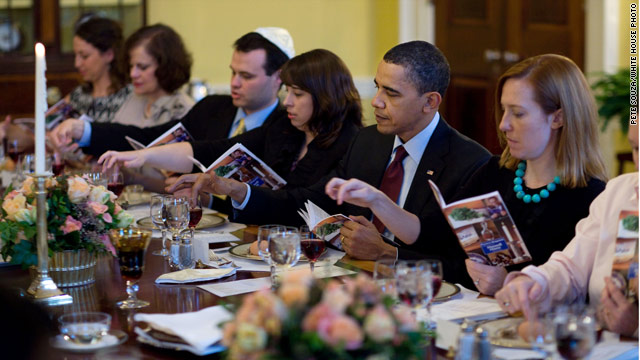 Another Seder at the White House