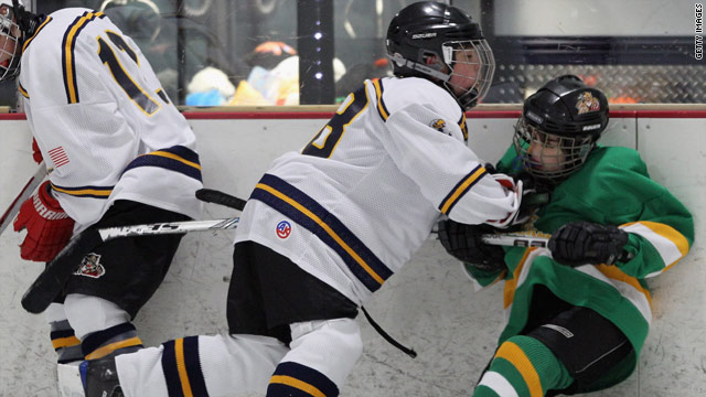 Should bodychecking in youth hockey be banned?