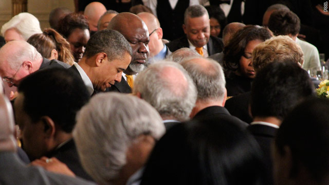 Obama hosts Holy Week prayer breakfast