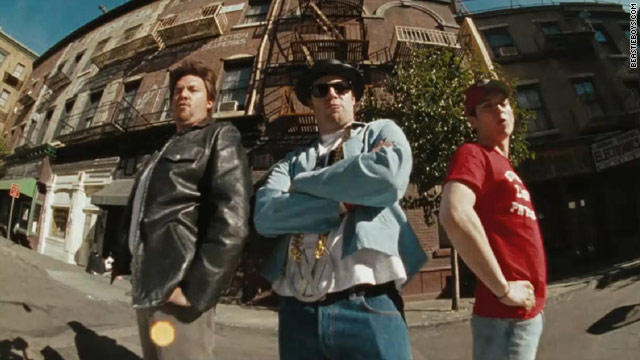 Danny McBride, Seth Rogen, Elijah Wood play Beastie Boys