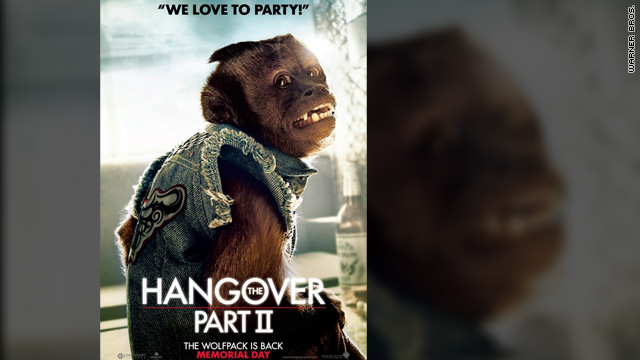 'Hangover Part II' monkey is not addicted to cigarettes