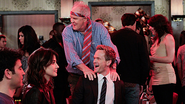 Barney parties with dad on 'HIMYM'