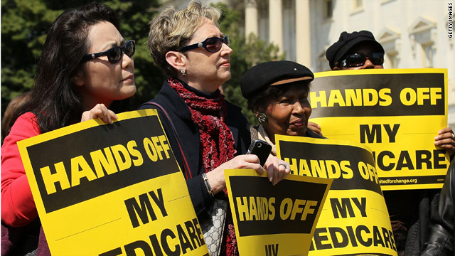 Campaign battle over Medicare heats up
