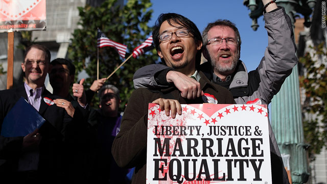 Poll:  More Americans favor same-sex marriage