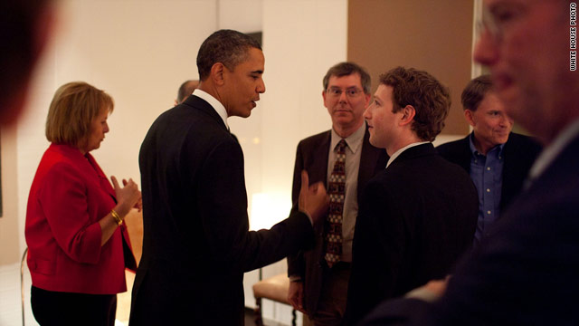 Obama is a fan of Facebook?