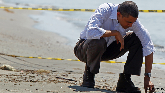 Obama on oil spill: Progress but &#039;job isn&#039;t done&#039;