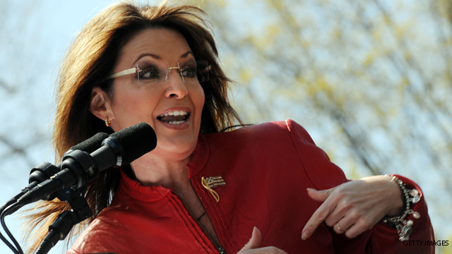 Palin says it's still too early to talk prez bid