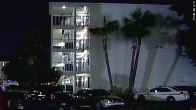 Hotel guest breaks toddler's 4-story fall