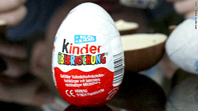 Easter reminder: Kinder Eggs banned in the United States