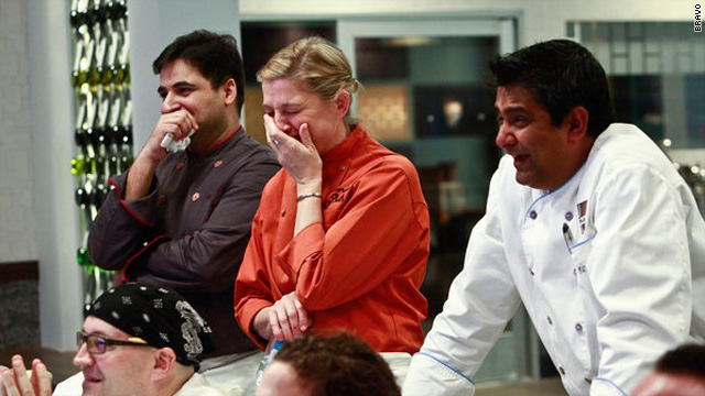 The worm has turned on 'Top Chef: Masters'