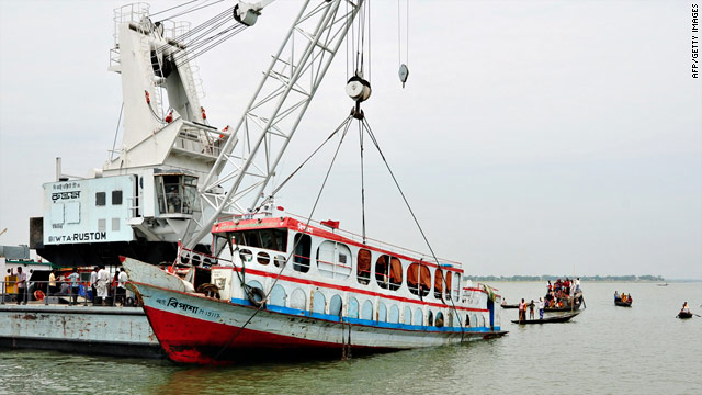 At least 27 killed in sinking of Bangladeshi ferry