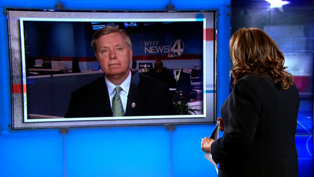 Graham: 'Cut the head of the snake off' in Libya