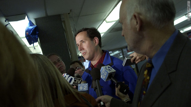 Santorum admits Medicare 'mistake'