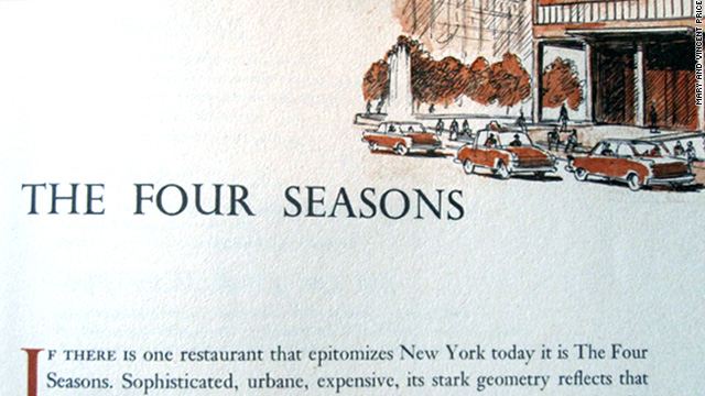 The Price of New York City dining