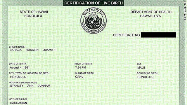 CNN investigation: Obama born in U.S. - CNN.com
