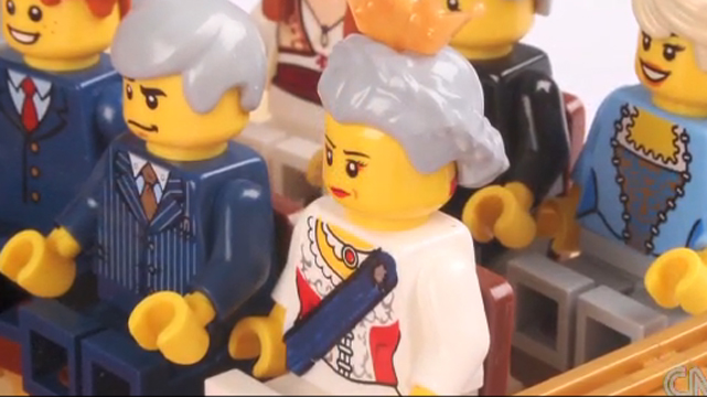 royal wedding lego. Kitschy royal wedding