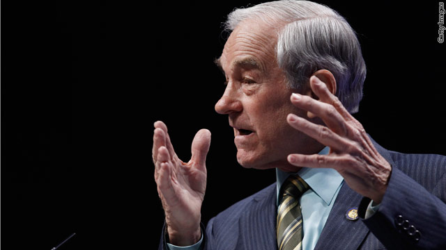 Ron Paul President in 2012