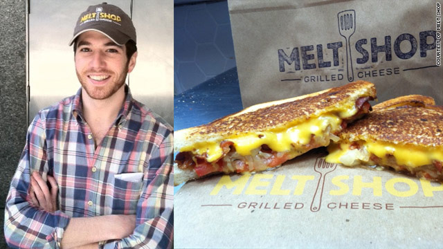5@5 - grilled cheese guru Spencer Rubin