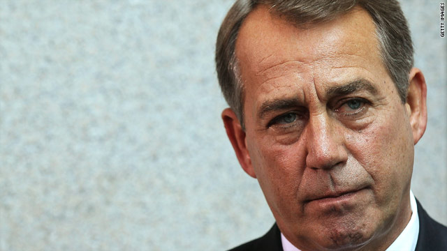 Boehner's favorability takes a fall