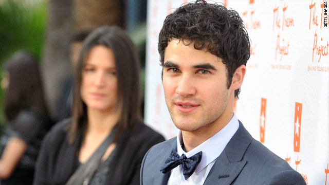 Darren Criss: 'Glee' bully Karofsky is hilarious