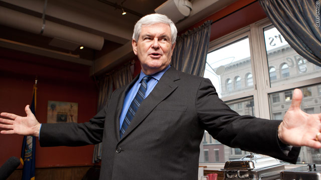 Gingrich blasts secular 'fanaticism' at prayer breakfast