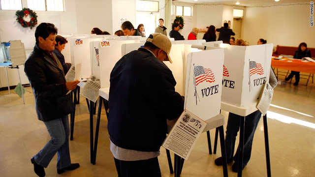 Report: 2010 was record breaking election for Latinos