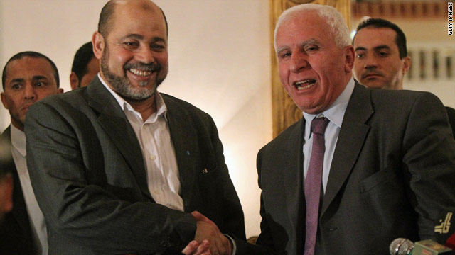 Thursday Roundup: Palestinian factions in reconciliation bid