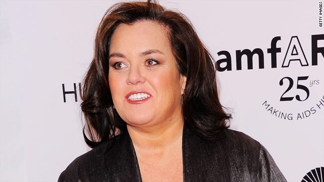 Rosie O'Donnell rethinks Trump Tower stay