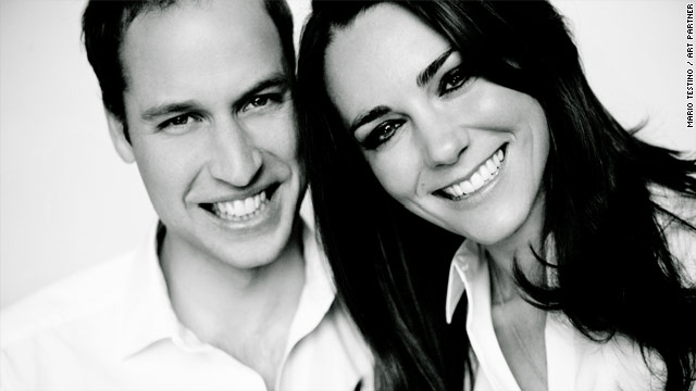 Royal wedding program photo released April 28th 2011 1011 AM ET