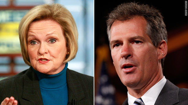 New attack ads aimed at Brown, McCaskill