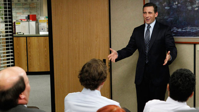 Michael Scott bids adieu to 'The Office'